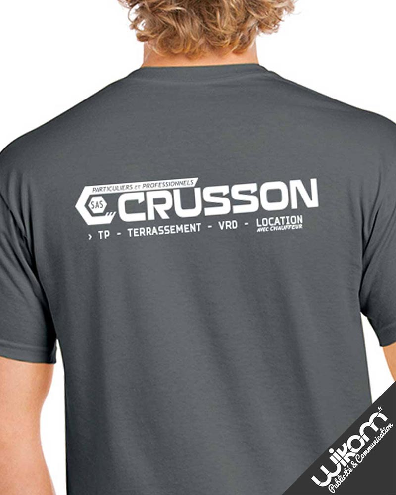 Marquage Textile CRUSSON TP